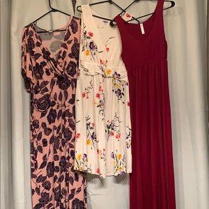 Medium Maternity Dress Bundle